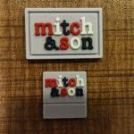 mitch and son silikon etiket
